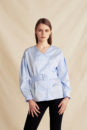 Alice shirt with belt (blue)