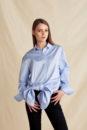Caroline knot shirt (blue)